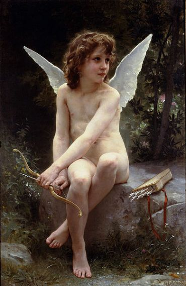 William-Adolphe Bouguereau – Love on the Look Out