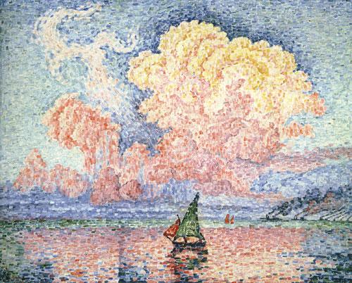 Paul Signac - Pink Clouds