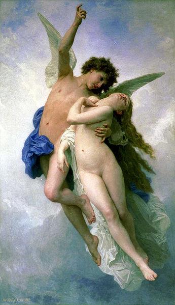 William-Adolphe Bouguereau – Psyche et L`Amour