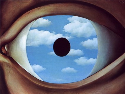 René Magritte - False Mirror,1928