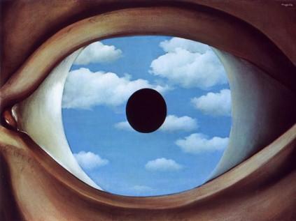 René Magritte - False Mirror,1928