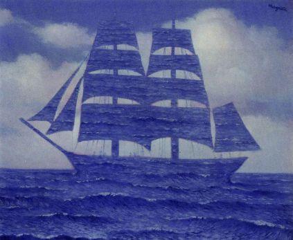 René Magritte - The seducer, 1953