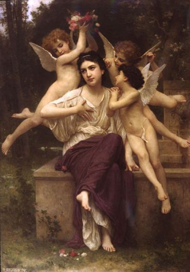 William-Adolphe Bouguereau – Rêve de printemps