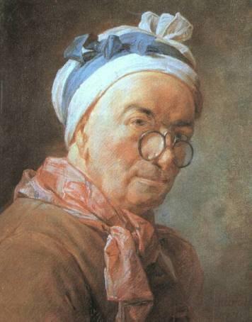 Jean-Baptiste Chardin - Self Portrait
