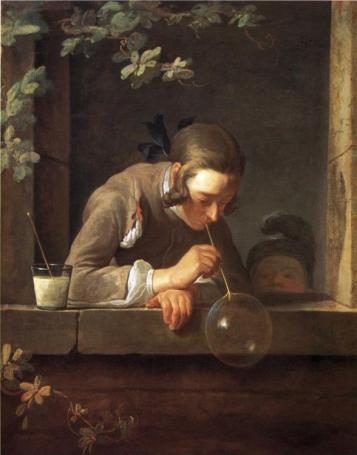 Jean-Baptiste-Siméon Chardin - Soap Bubbles