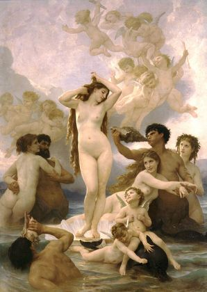 William-Adolphe Bouguereau - The Birth of Venus