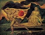 William Blake - The Body of Abel Found by Adam and Eve