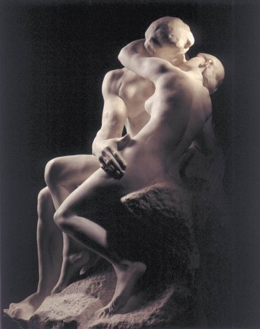 Auguste Rodin-The Kiss