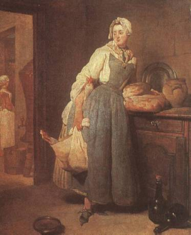 Jean-Baptiste-Siméon Chardin - The Return from Market