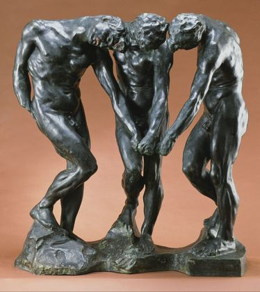 Auguste Rodin-The tree shades