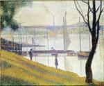 Georges Seurat - The Bridge at Courbevoie