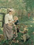 Ivana Kobilca - Poletje(Summer), 1889