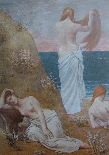 Puvis de Chavannes - Jeunes Filles au bord de la mer