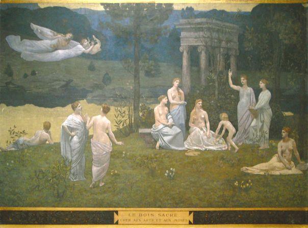 Puvis de Chavannes - Le Bois sacré cher aux arts et aux Muses