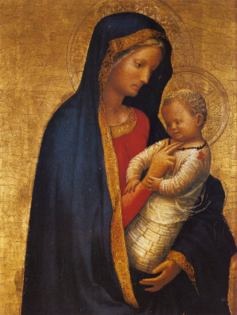 Masaccio - Madonna and Child