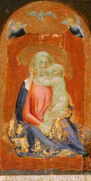 Masaccio - Madonna dell'umiltà