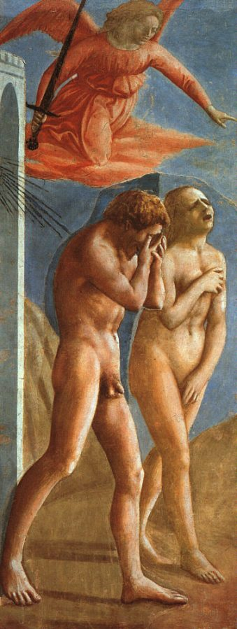 Masaccio - The Expulsion from the Garden of Eden