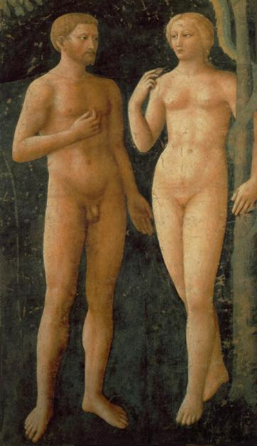 Masaccio - The Temptation