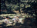 Ivana Kobilca - Children in the grass