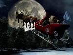 Santa Claus sledge