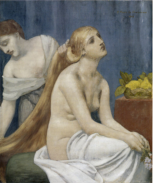 Puvis de Chavannes - The Toilette