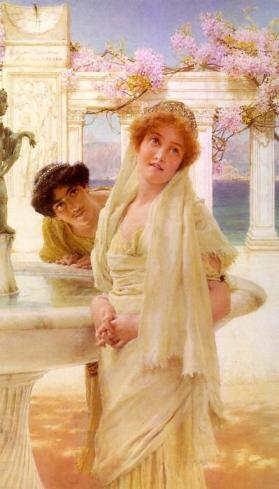 Sir Lawrence Alma-Tadema - A Difference of Opinion