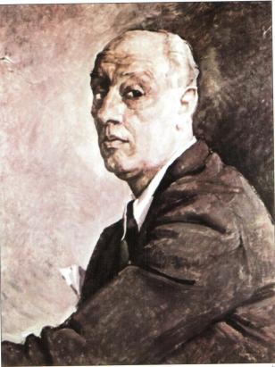 Camil Ressu - Autoportret