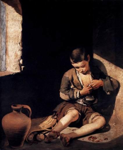 Bartolomé Esteban Murillo - The Young Beggar