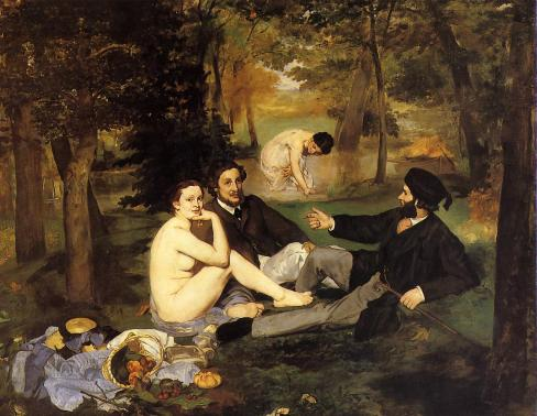 Édouard Manet - Luncheon on the Grass – 1863