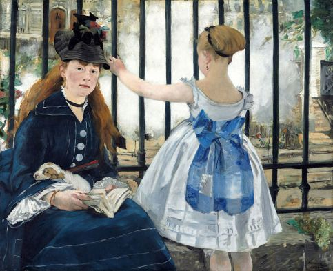 Édouard Manet - The Railway, 1872