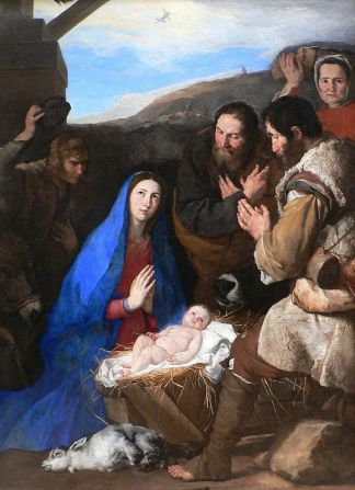 José de Ribera - Adoration of the Shepherds