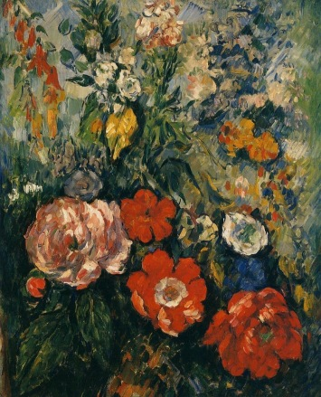 Paul Cézanne - Bouquet of Flowers