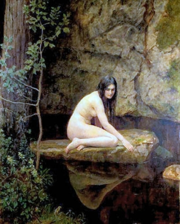 John Collier - The Water Nymph