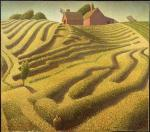 Grant Wood  - Haying