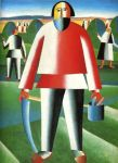 Kazimir Malevich - Mower