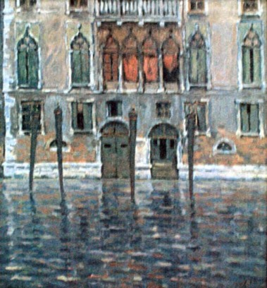 Nicolae Dărăscu - Palat veneţian
