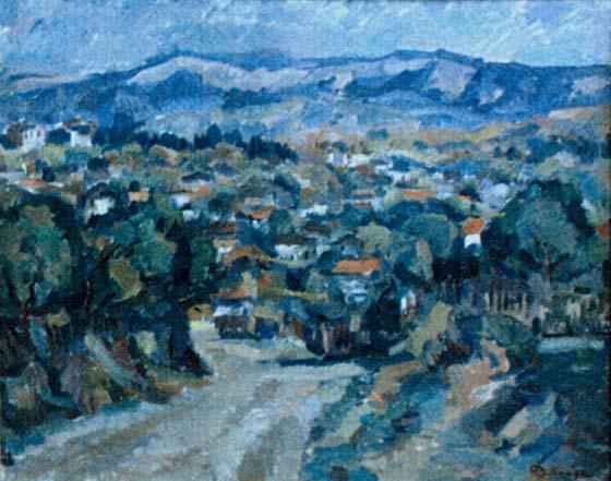 Nicolae Dărăscu - Peisaj din Muscel