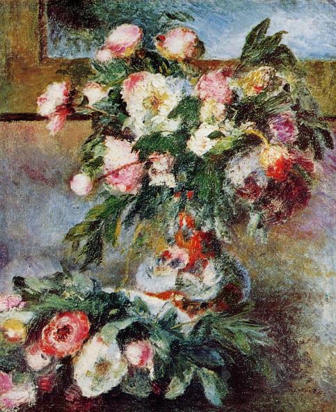 Pierre-Auguste Renoir - Peonies