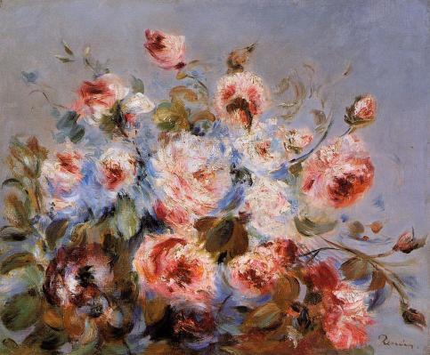 Pierre-Auguste Renoir - Roses from Wargemont