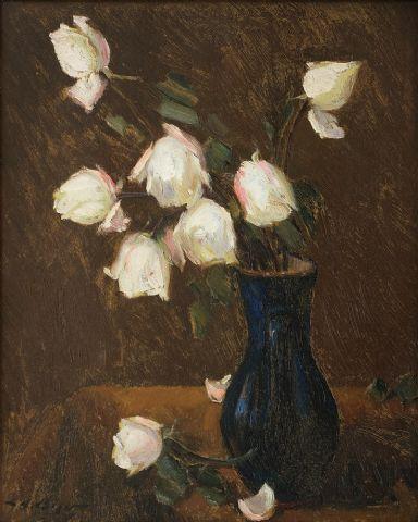 Leon Biju - Trandafiri albi