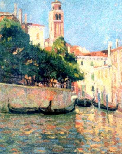 Nicolae Dărăscu - Venetia
