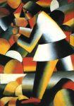 Kazimir Malevich - Woodcutter