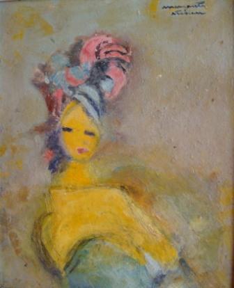 Margareta Sterian-Fata cu turban
