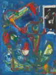 Hans Hofmann - Blue Rhythm, 1950