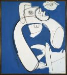 Hans Hofmann - White in Blue, 1947