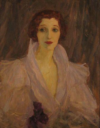 Sir John Lavery - Lady Lavery