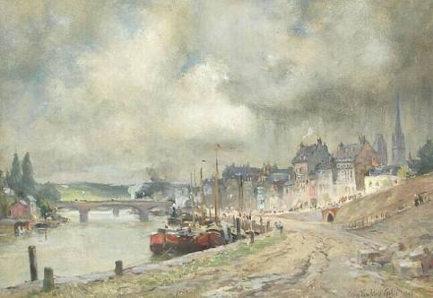 Colin Campbell Cooper-Rouen, France