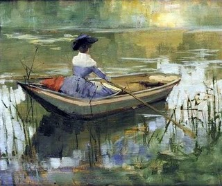 Sir John Lavery - A Summer Afternoon