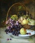 Theodor Aman.Cos cu fructe