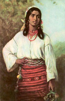Theodor Aman.Tigancusa